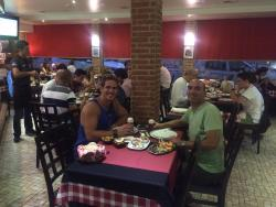 My favorite place to eat when I come to leiria, never had a bad meal here! The servers our frien