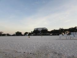 picture of the Holiday inn standing on the Beach
