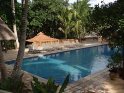Vista de una de las piscinas