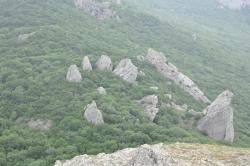 Храм Солнца. Вид с горы Ильяс-Кая