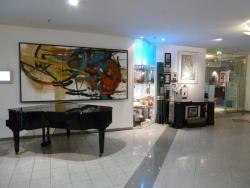 Kunst in der Lobby