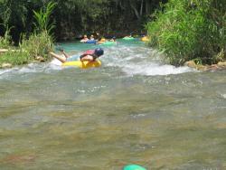 River Tubing Beach Adventure