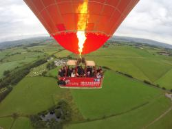 Virgin Balloon Flights - Lancaster, Crook O Lune