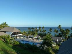 View from honeymoon suite