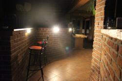 Night entrance