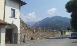view from outside Osteria Marascia