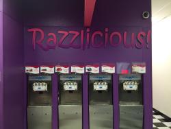Razzlicious Frozen Yogurt