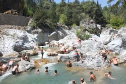 baignade à 14 ° en montagne