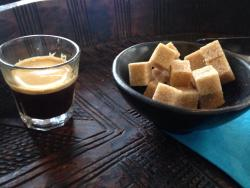 A simple spectacular espresso