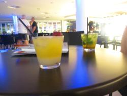 cocktails at the hotel bar!