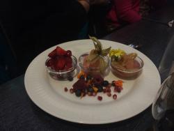 Dessert specialtillverkad för en laktos och gluten allergiker! (Inget verkade vara omöjligt)