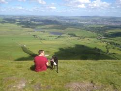 View from top of Pendle Hill