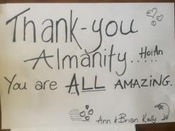 Thank you Almanity