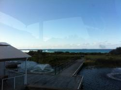 Lovely outlook to the Pacific Ocean