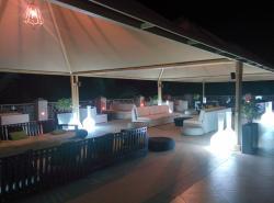Patio shisha lounge