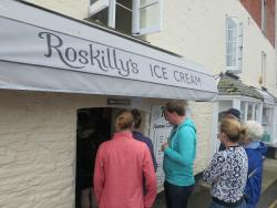 ‪Roskilly ice cream padstow‬