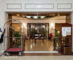 Front Desk at the Principe Pio Hotel