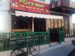 FOX'S BAR