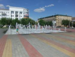 Fountain at Soviet Square