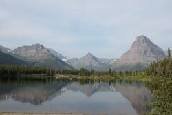 Two Medicine Lake in the morning.
