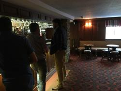 The Bar in the Dudley Arms
