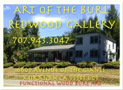 Art of the Burl Redwood Gallery