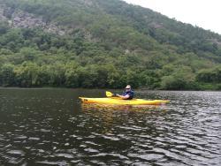 Enjoying the Delaware Water Gap area