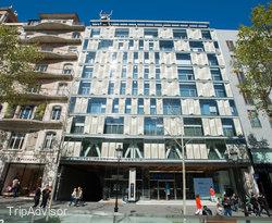 Street at the Hotel Royal Passeig de Gracia