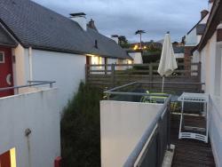 La terrasse de notre 3P Pennti...