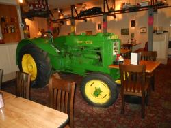 Fossi;l the inside tractor
