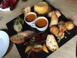 Well presented delicious pub food and fast service