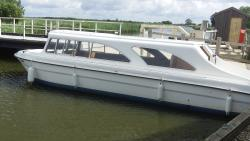 One of the boats available to hire