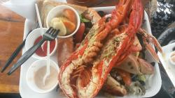 Gorgeous seafood platter