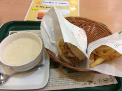 Mos Burger  Matsuyamatobukanjoten