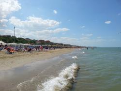 Het strand bij Palombima (15 min rijden)