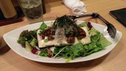 Salat und Tofu