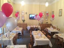 Great function room and very nicely decorated for us
