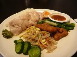 庆城海南鸡饭