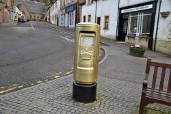 ‪Andy Murray's Gold Post Box‬
