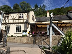 Pub from the outdoor area
