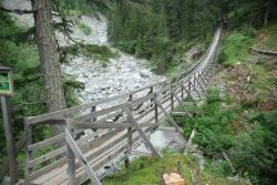 Val Sinestra Suspension Bridges