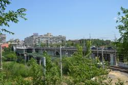 Astrahanskiy Bridge Across Tsaritsa River