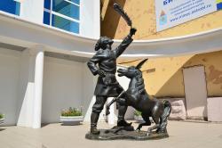 Sculpture Ivanushka And Konek-Gorbunok