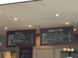 Le menù