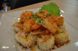 atomic shrimp roll