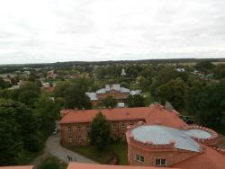 View from observatory tower