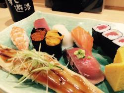 Sushi Yuraku, Narita Airport