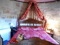 A typical bedroom in the castle