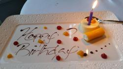 Wonderful Birthday Meal. It was my sister's birthday. The food was fabulous.  Staff are so profe