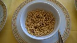 Fagiolina (piccolissimi fagioli locali, all'olio)